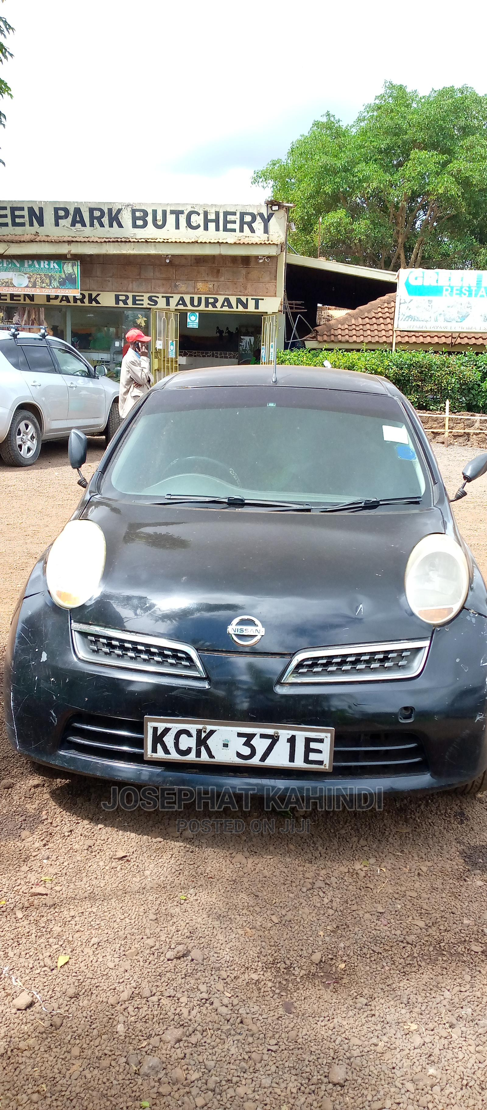 Nissan March 2010 Green