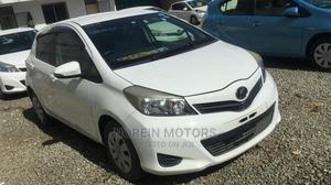 Toyota Vitz 2013 White   Cars for sale in Mombasa, Ganjoni