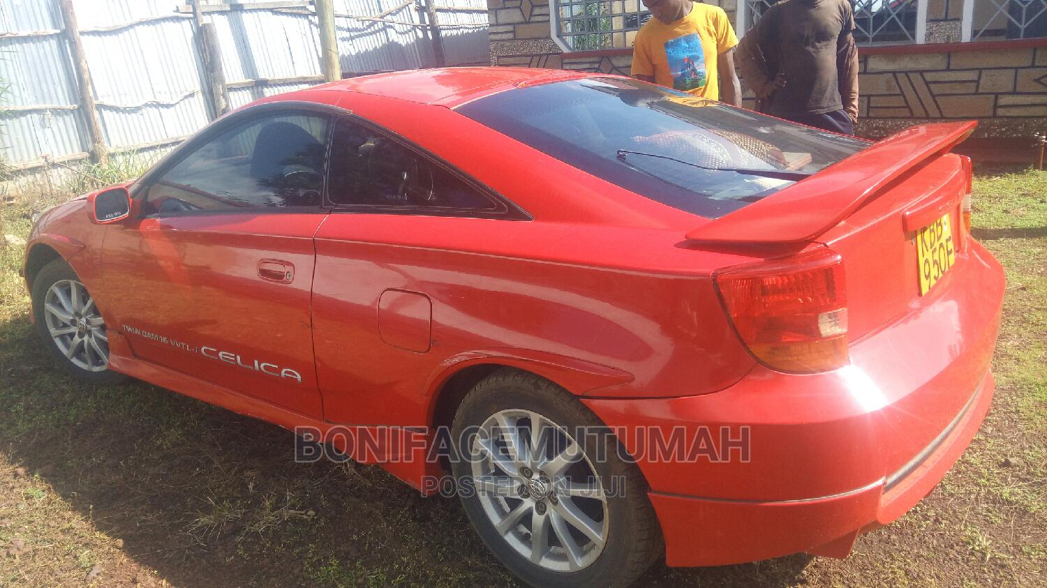 Archive: Toyota Celica 2005 GT Red
