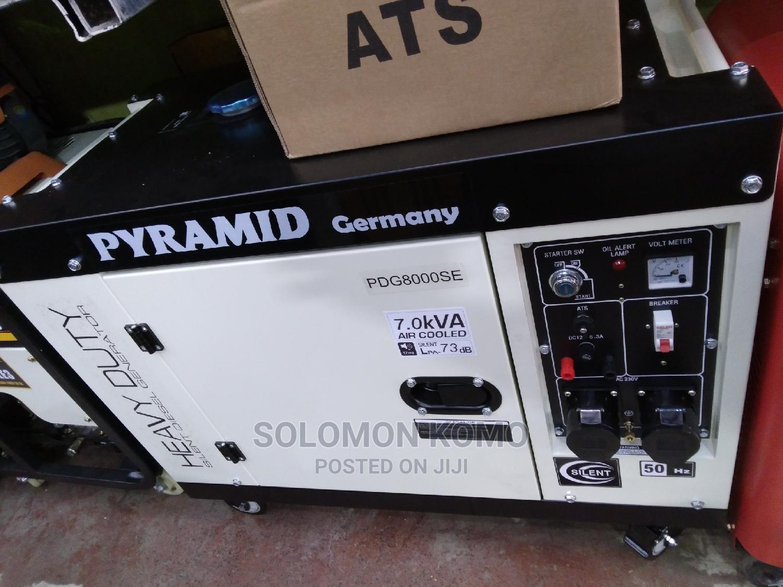 PYRAMID 7.5 Silent Generator Diesel Automatic