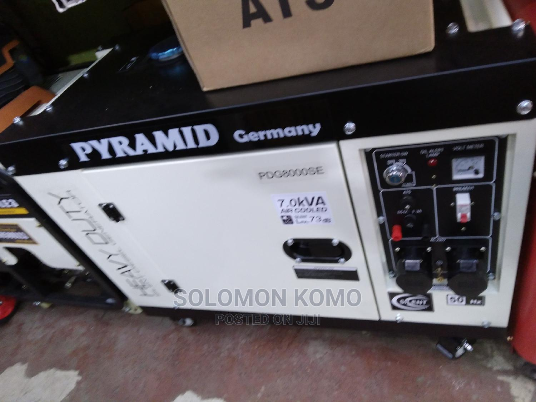 PYRAMID 7.5 Silent Generator Diesel Automatic   Electrical Equipment for sale in Nairobi Central, Nairobi, Kenya