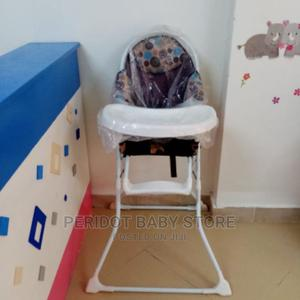 Unisex Baby High Chair/ Foldable Feeding Chair-Brown   Children's Gear & Safety for sale in Kajiado, Ongata Rongai