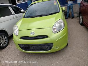 Nissan March 2014 Green   Cars for sale in Mombasa, Mombasa CBD