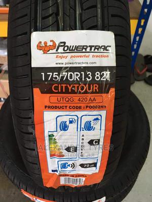 175/70 R13 Powertrac Tyre Made in China | Vehicle Parts & Accessories for sale in Nairobi, Nairobi Central