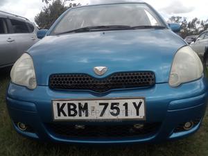 Toyota Vitz 2003 Blue   Cars for sale in Nairobi, Nairobi Central