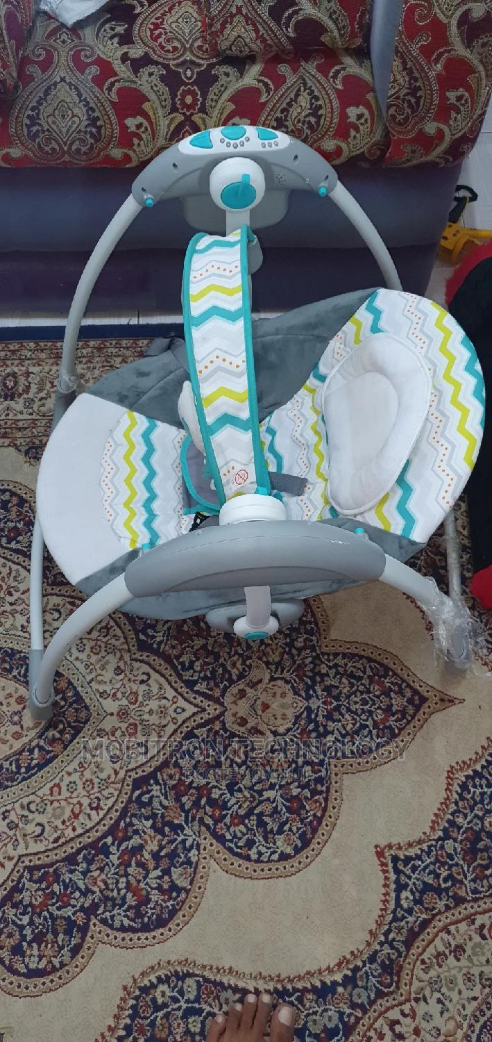 Archive: Baby Electric Swing. Automatic Baby Swinger