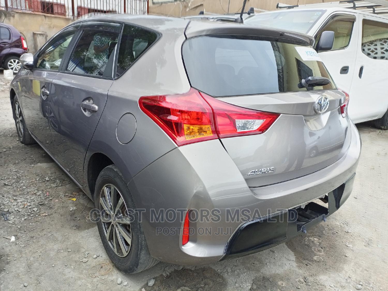 Toyota Auris 2014 Gray   Cars for sale in Ganjoni, Mombasa, Kenya
