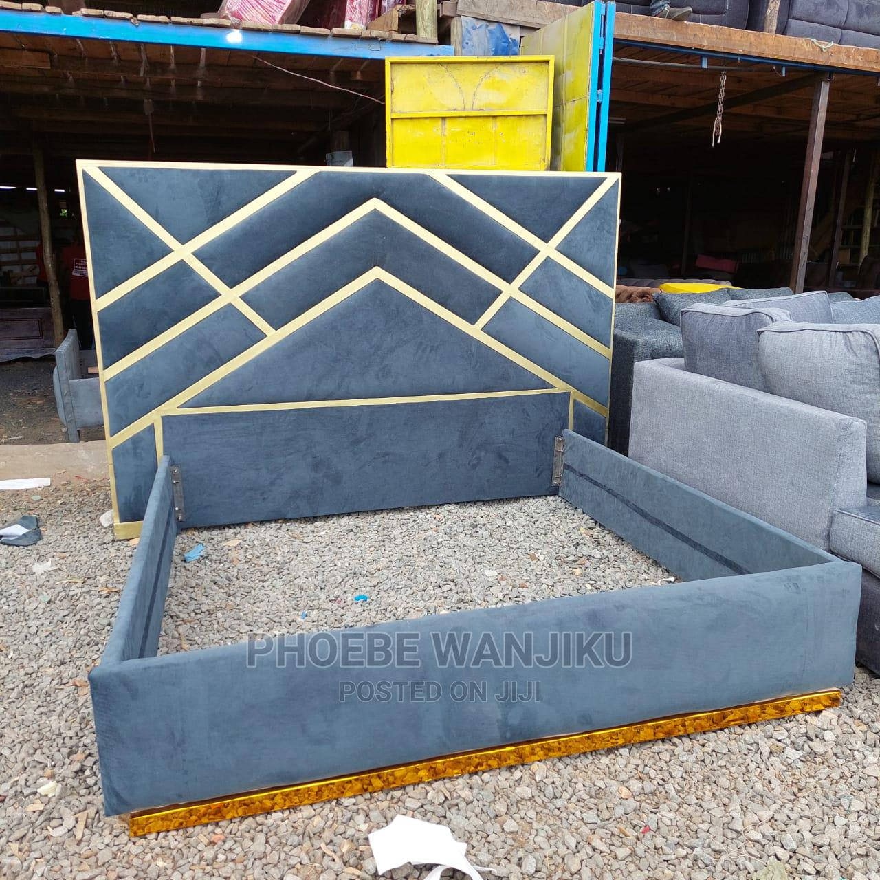 5 by 6 Modern Bed