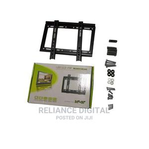 """14""""-42"""" TV Flat Panel Wall Bracket Holder Black 