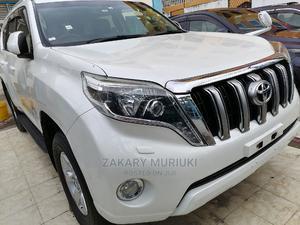 Toyota Land Cruiser Prado 2014 White | Cars for sale in Mombasa, Shimanzi