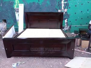 6 by 6 Pure Mahogany Bed | Furniture for sale in Nairobi, Kahawa