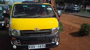 Clean Toyota Hiace 2007 Yellow | Buses & Microbuses for sale in Kiambu, Kiambaa