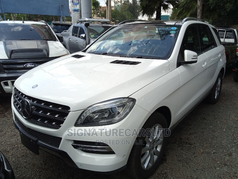 Archive: Mercedes-Benz M Class 2015 White