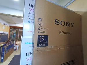 SONY 49 Inches X7500H Smart Android 4K TV   TV & DVD Equipment for sale in Nairobi, Nairobi Central