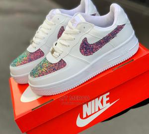 Nike Airforce One Glitter Sneakers   Shoes for sale in Nairobi, Nairobi Central