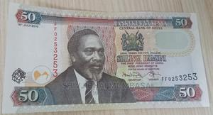 Unik Serial Number 50 Shillings Note, Kenya, 2010 | Arts & Crafts for sale in Mombasa, Ganjoni