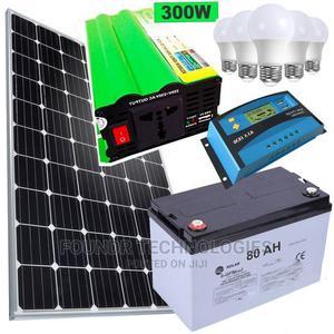 Sunnypex Solar Fullkit 100watts Solar Panel + 80AH Battery + | Solar Energy for sale in Nairobi, Nairobi Central