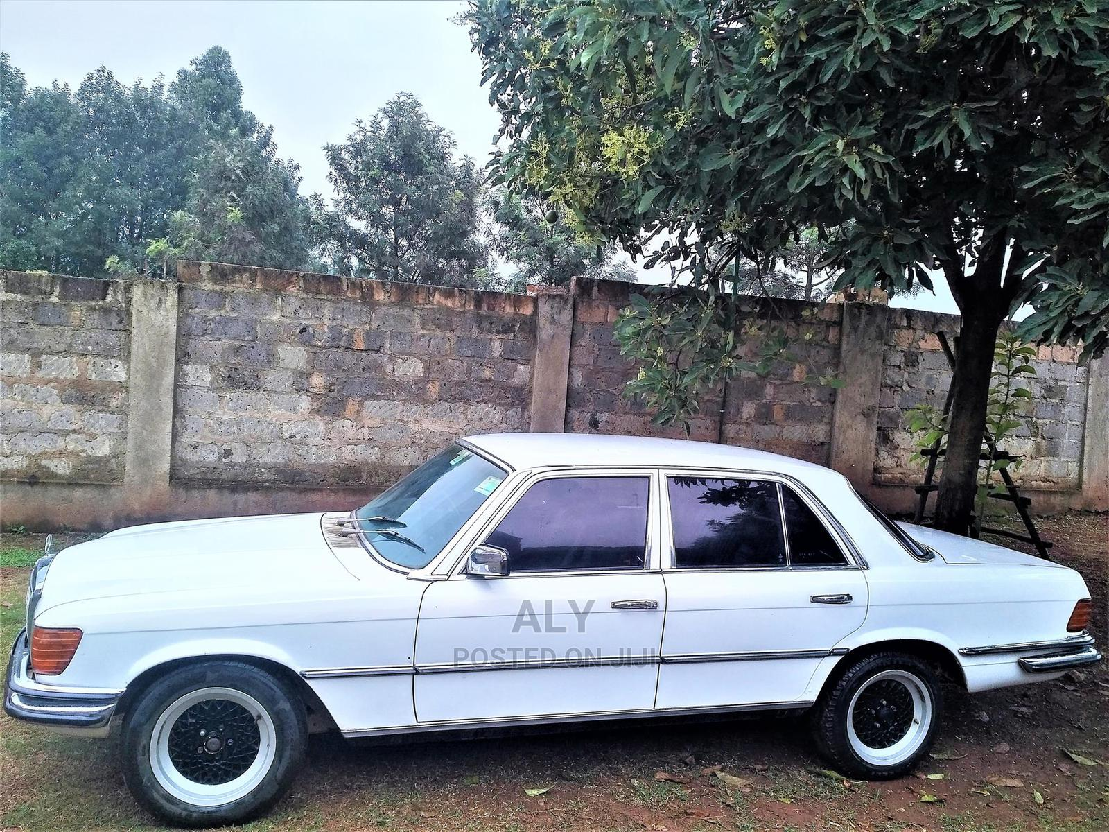 Archive: Mercedes-Benz S Class 1978 White