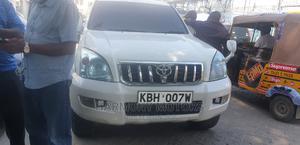 Toyota Land Cruiser Prado 2005 White   Cars for sale in Mombasa, Mombasa CBD