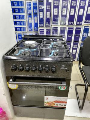 Masterchef 60 by 60 3g and 1e Cooker Black | Kitchen Appliances for sale in Nairobi, Nairobi Central