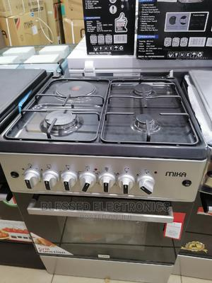 Mika 60 by 60 3gas and 1 Electric Cooker | Kitchen Appliances for sale in Nairobi, Nairobi Central