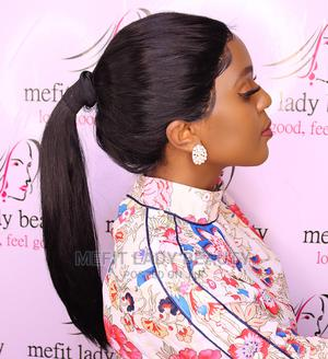 Long Straight Black Frontal Lace Wig | Hair Beauty for sale in Nairobi, Nairobi Central