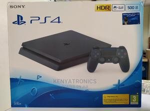 Sony Playstation 4 Slim Gaming Console 500GB(Black PS4 Slim) | Video Game Consoles for sale in Nairobi, Nairobi Central