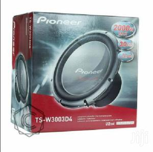 Loud & Powerful Pioneer TS-W3003D4 Champion Series Pro Car Subwoofer   Audio & Music Equipment for sale in Nairobi, Nairobi Central