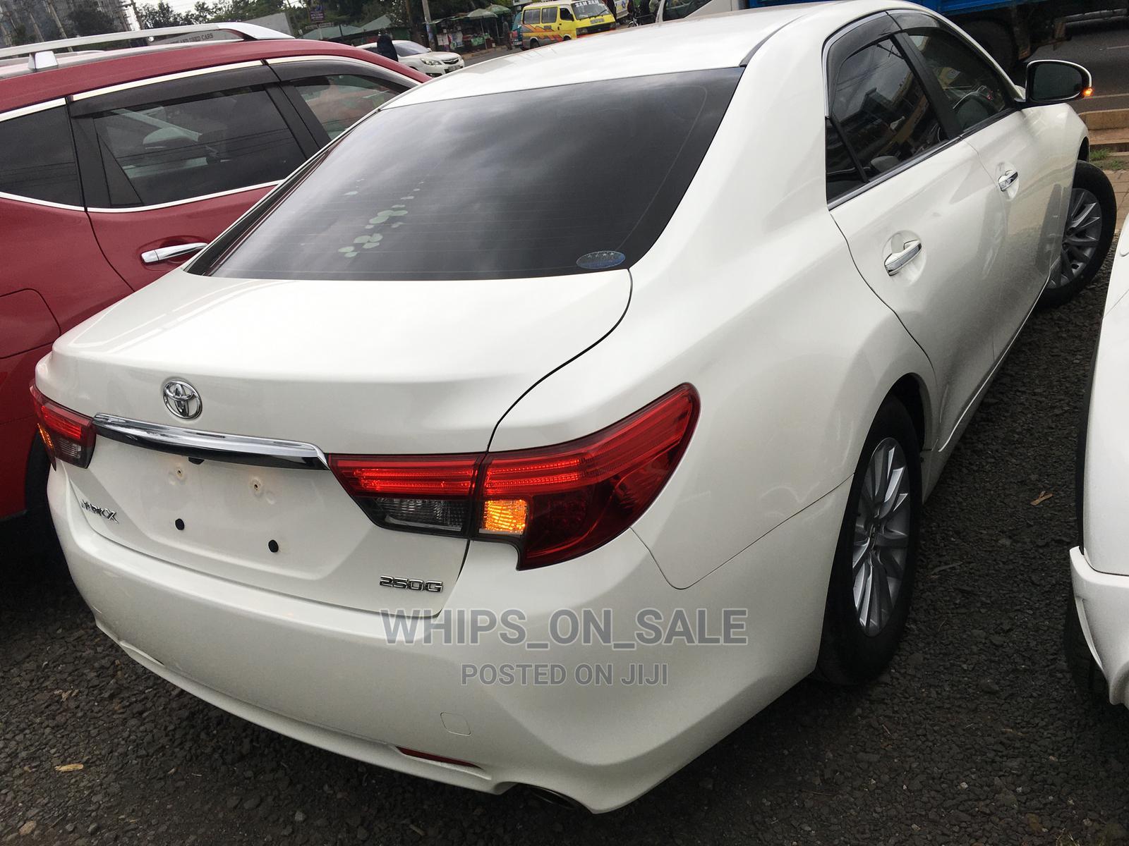 Toyota Mark X 2014 White   Cars for sale in Kilimani, Nairobi, Kenya