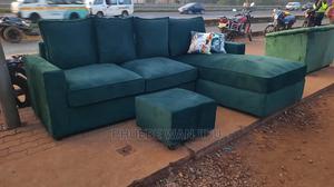 Green L Shape Sofa   Furniture for sale in Nairobi, Kahawa