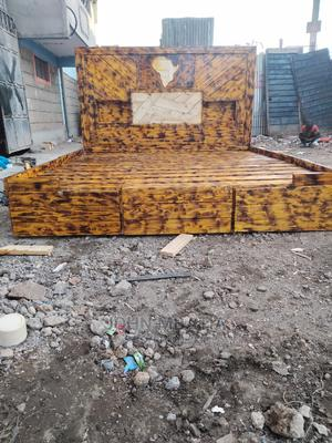 Customized Pallette Bed | Furniture for sale in Nairobi, Kahawa West