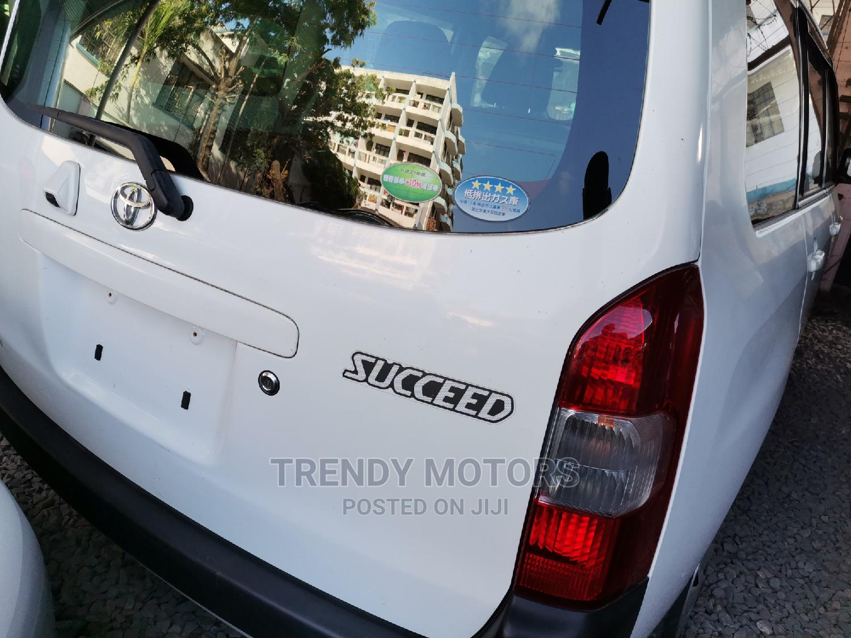 Toyota Succeed 2015 White | Cars for sale in Ganjoni, Mombasa, Kenya