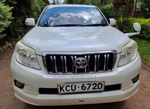 Toyota Land Cruiser Prado 2012 White | Cars for sale in Nairobi, Nairobi Central