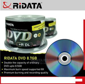 Ridata 8.7gb DVD Dual Layer   CDs & DVDs for sale in Nairobi, Nairobi Central
