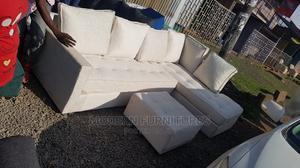 L Seat Sofa With Ottonman   Furniture for sale in Nairobi, Kahawa