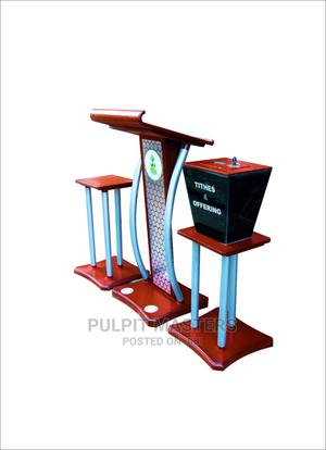 Three Set Pulpit | Furniture for sale in Nairobi, Kariobangi