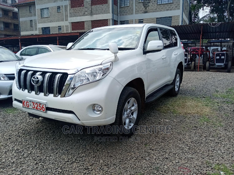 Toyota Land Cruiser Prado 2014 White | Cars for sale in Woodley/Kenyatta Golf Course, Nairobi, Kenya