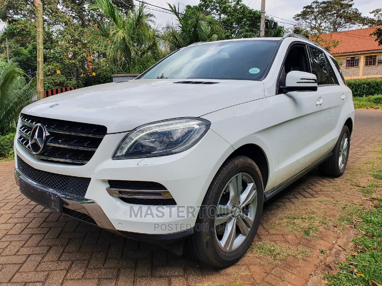 Archive: Mercedes-Benz M Class 2014 White