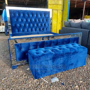 5 by 6 Modern Bed+ Ottoman | Furniture for sale in Nairobi, Kahawa