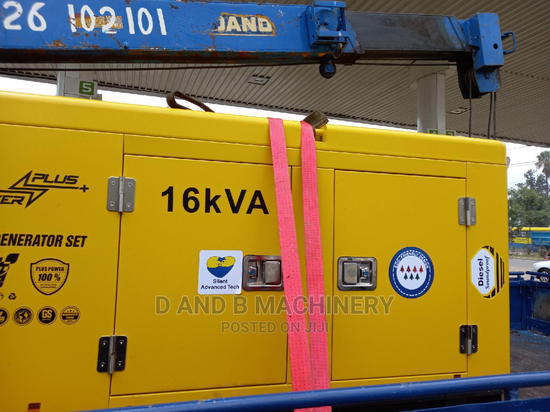 Automatic 16kva Diesel Generator