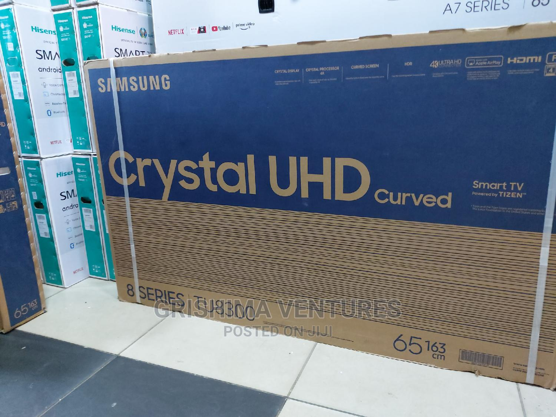 Samsung 65 Inch Smart 4K UHD Curved Crystal TV, 65TU8300