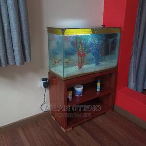 Aquarium + Wooden Stand | Fish for sale in Nairobi, Umoja