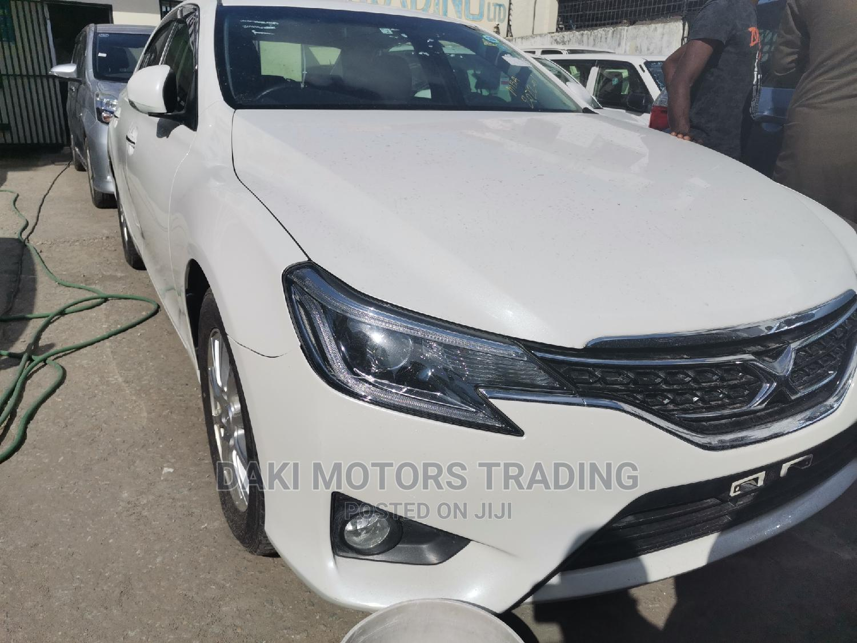 Toyota Mark X 2015 White