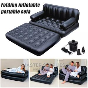 Bestway Inflatable 5 In 1 Air Couch With Hand Pump   Furniture for sale in Nairobi, Nairobi Central