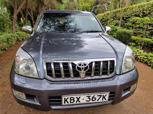 Toyota Land Cruiser Prado 2005 Gray   Cars for sale in Nairobi, Nairobi Central