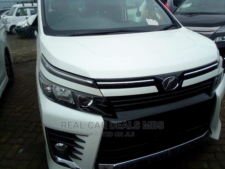 Toyota Voxy 2015 White   Cars for sale in Tudor, Mombasa, Kenya