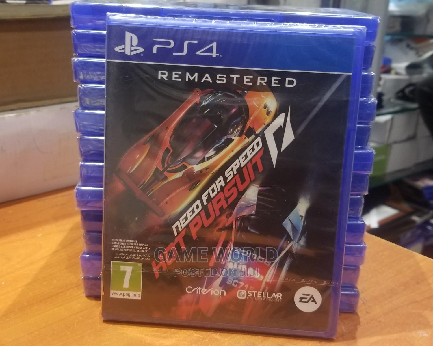 Archive: Ps4 Need for Speed Hot Pursuit Remastered