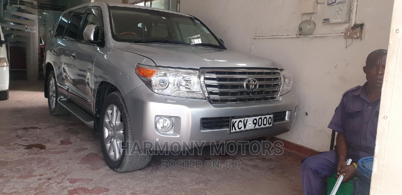 Toyota Land Cruiser Prado 2013 Silver