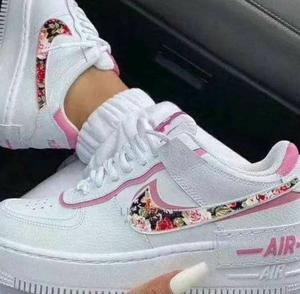 Ladies Nike Airforce One Flowered Shadow Sneakers   Shoes for sale in Nairobi, Nairobi Central