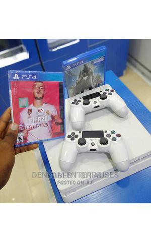 Used Ps4 Slim Plus 2 Optional Games | Video Game Consoles for sale in Nairobi, Nairobi Central